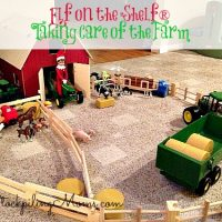 Elf on the Shelf® Taking Care of the Farm