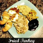 Fried Turkey Leftovers