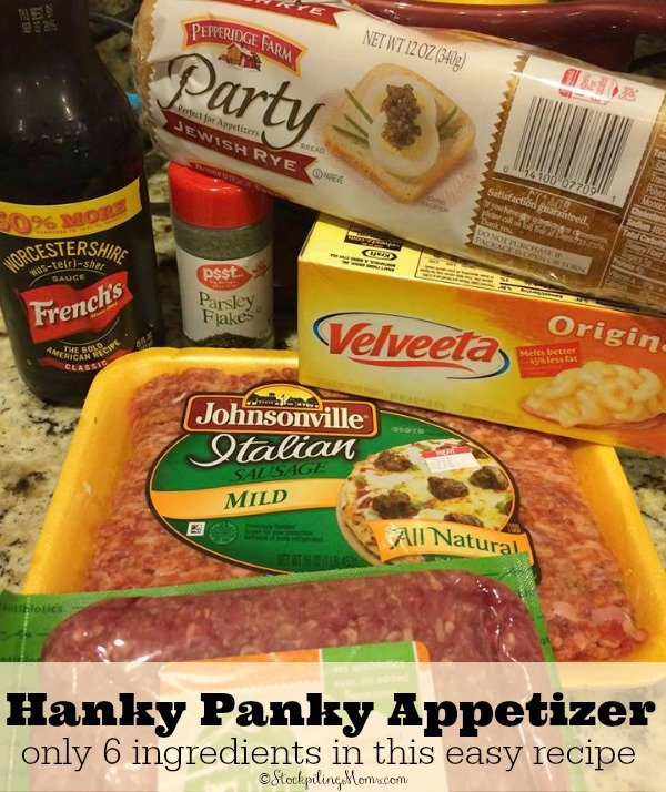 Hanky Panky Appetizer - Only 6 ingredients in this easy recipe