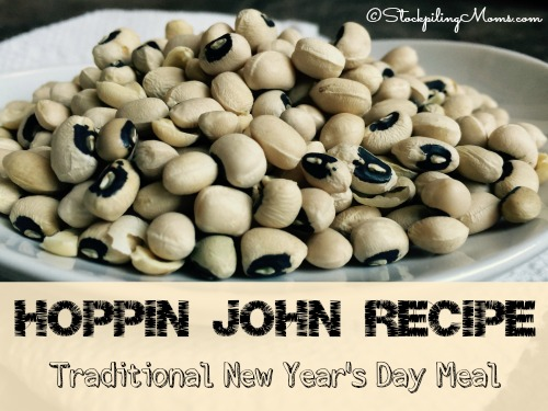 Hoppin John Recipe is a traditional New Year's Day meal for my family. It is suppose to bring good luck and prosperity to those who eat it!