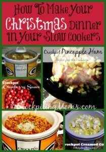 How To Make Your Christmas Dinner In Your Slow Cookers