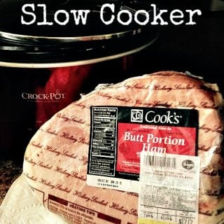 How to cook a Ham in your Slow Cooker