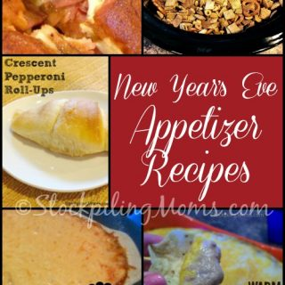 New Year's Eve Appetizer Recipes Roundup