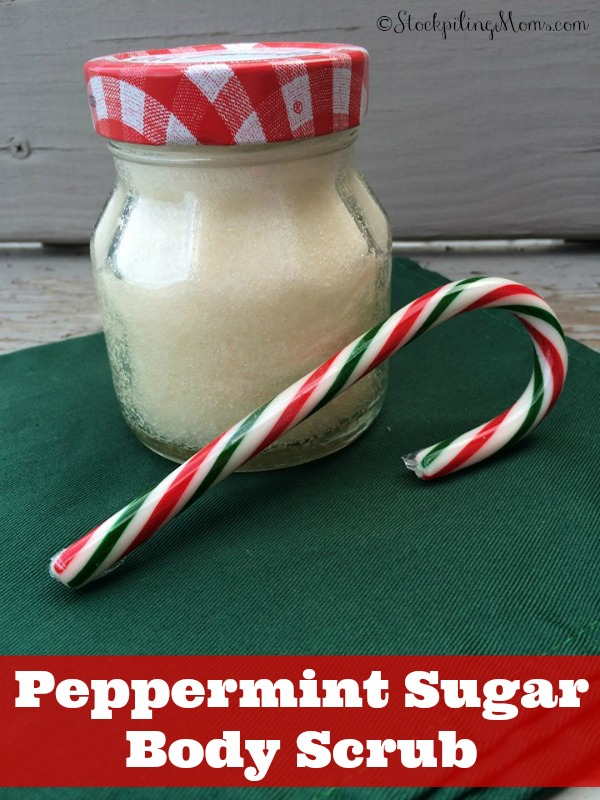 Peppermint Sugar Foot Scrub - The best Christmas gift EVER!