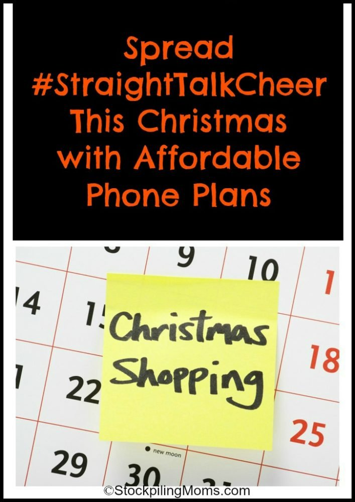 Spread #StraightTalkCheer This Christmas with Affordable Phone Plans