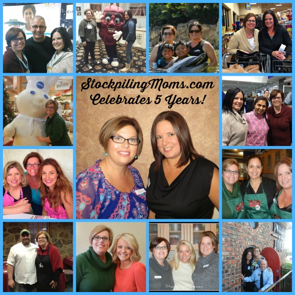StockpilingMoms.com Celebrates 5 Years