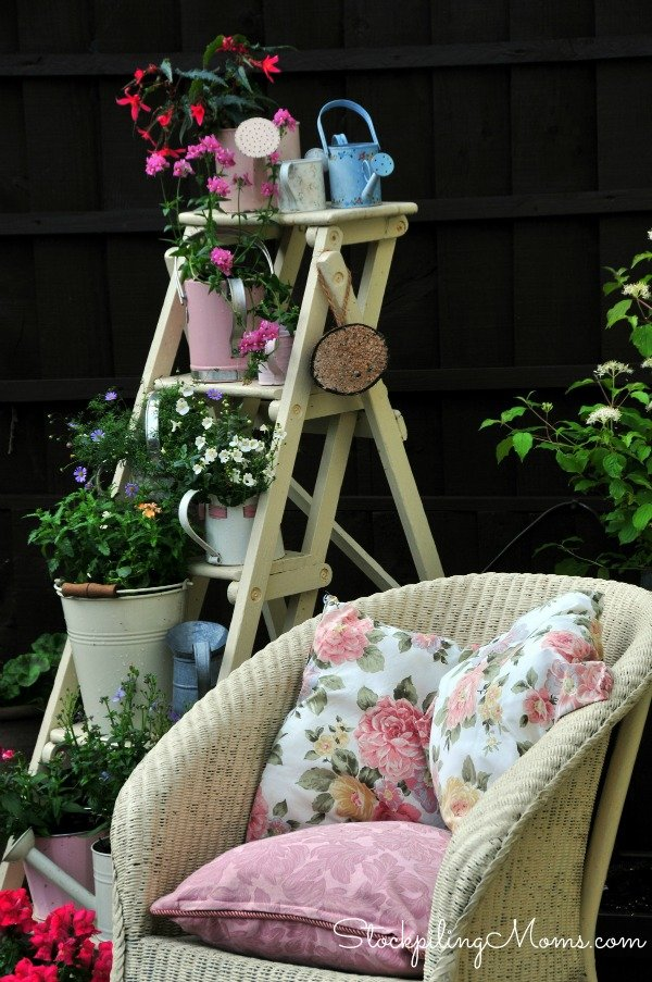 How to Use Vintage Items to Dress up your Garden
