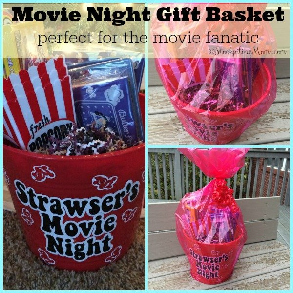 movie fanatic gift basket - perfect for the movie fanatic