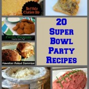 20 Super Bowl Party Recipes