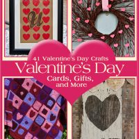 41 Valentine's Day Crafts free eBook