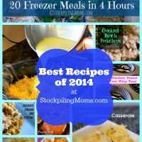 Best Recipes of 2014 at StockpilingMoms.com