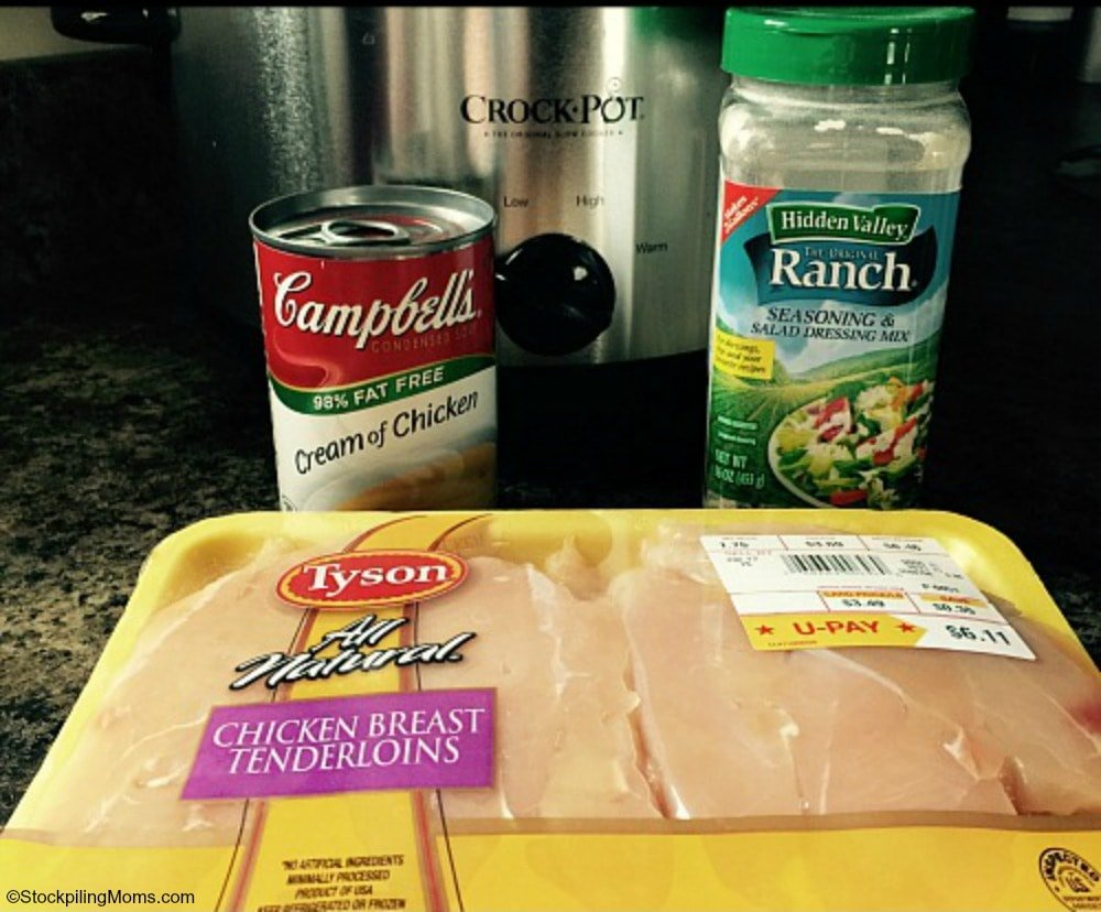 crock pot chicken breast recipes with cream of chicken soup