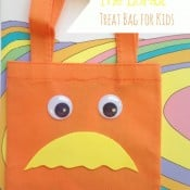 Dr. Seuss The Lorax Treat Bag for Kids
