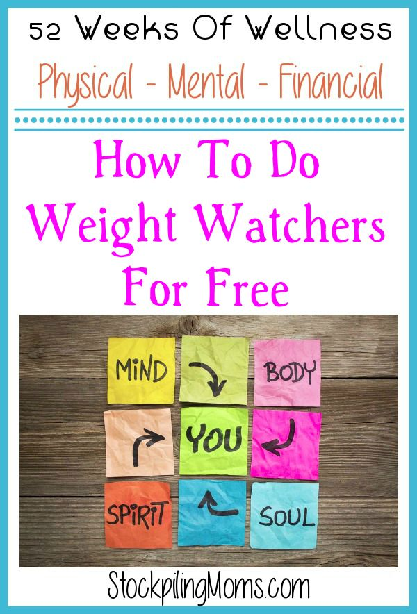 Fabuleux To Do Weight Watchers For Free FU45