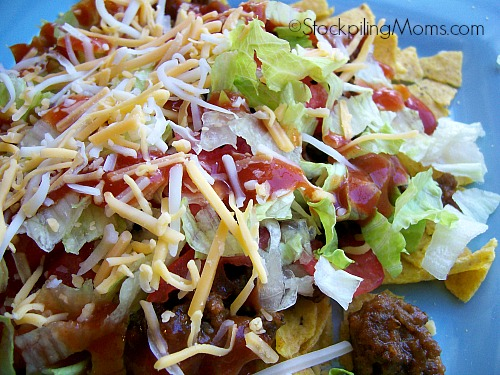 This delicious Taco Salad is so easy to make and great for lunch or dinner!