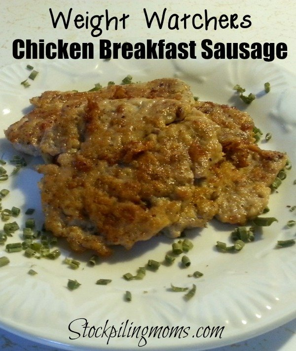 Weight Watches Chicken Breakfast Sausage