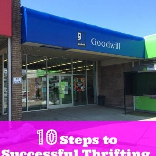 10 Steps to Successful Thrifting
