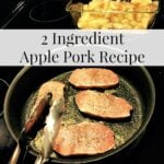 2 Ingredient Apple Pork Recipe