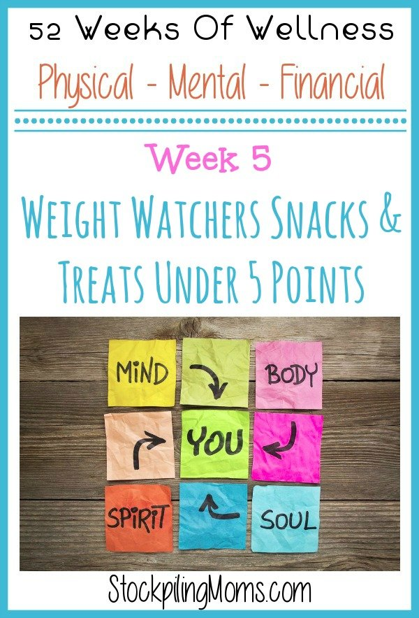 Weight Watchers Treats & Snacks Under 5 Points