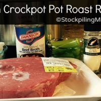 Clean Crockpot Pot Roast Recipe