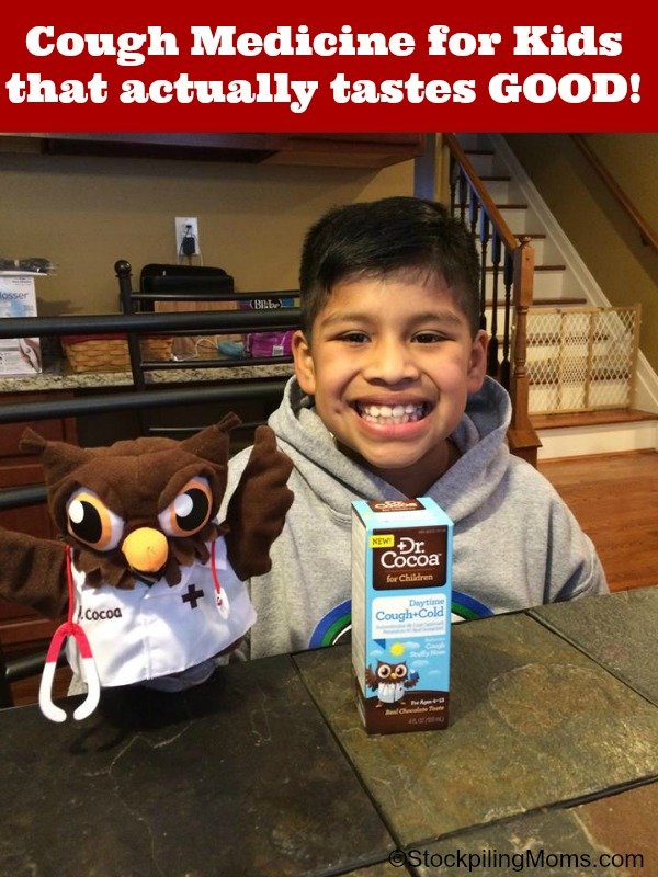 Cough Medicine for Kids that actually tastes GOOD!