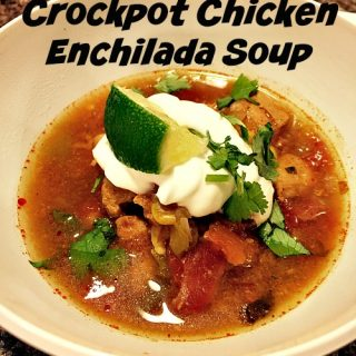 Crockpot Chicken Enchilada Soup
