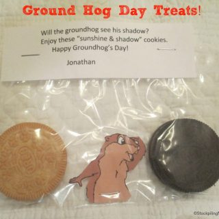 Groundhog Day Treats