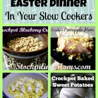 How To Make Your Easter Dinner In Your Slow Cookers