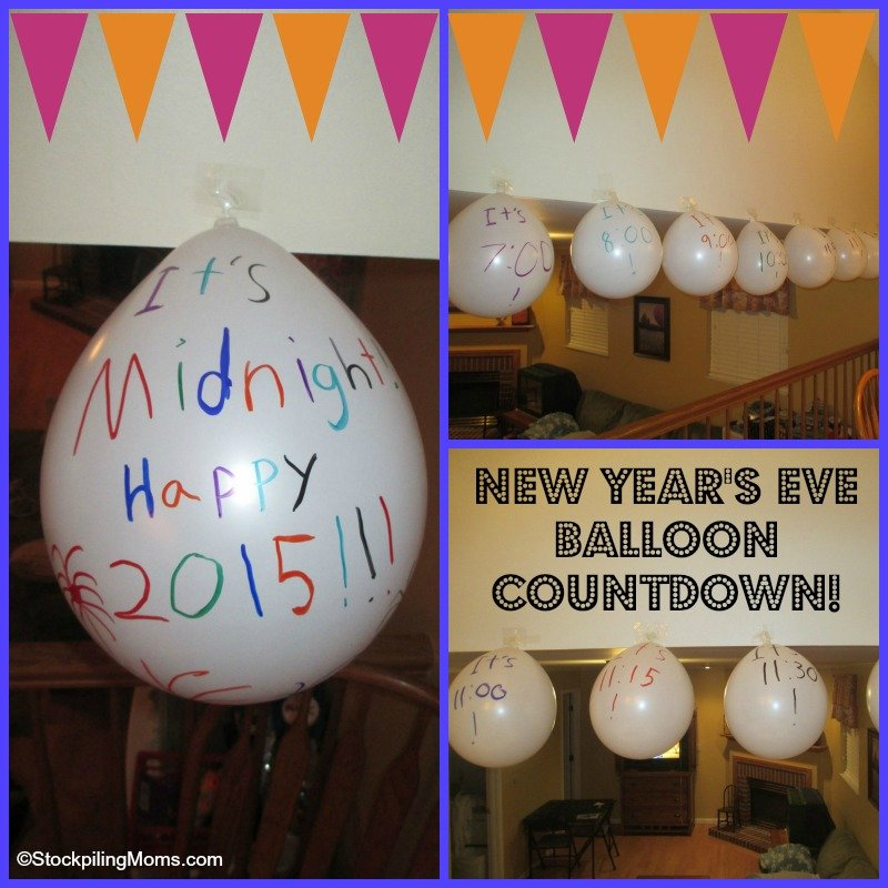 New Year's Eve Balloon Countdown