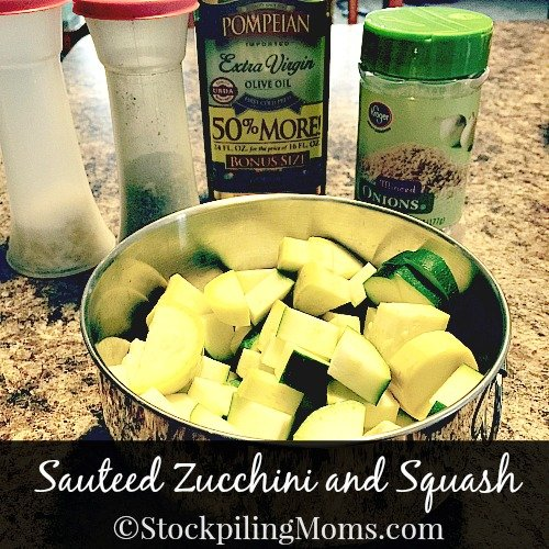 Sauteed Zucchini and Squash is a healthy, clean eating side dish recipe. My all time favorite to make!