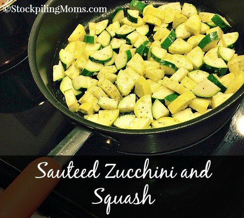 Sauteed zucchini and squash sauteed zucchini and squash is a healthy clean eating side dish recipe my all forumfinder Choice Image