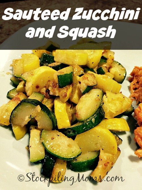 Sauteed Zucchini and Squash is a healthy, clean eating side dish ...
