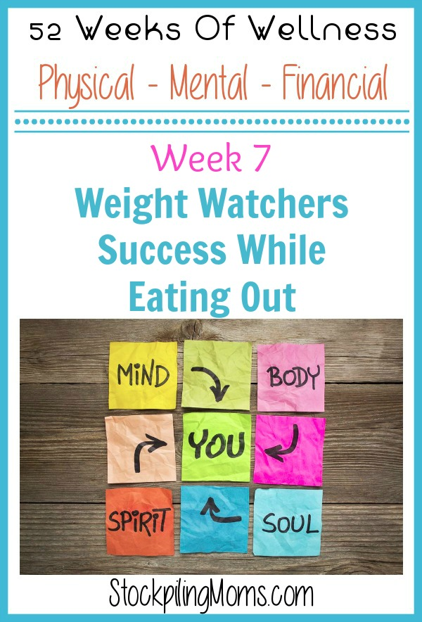 Weight Watchers Success While Eating Out