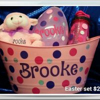 Personalized Easter Basket Giveaway – CLOSED