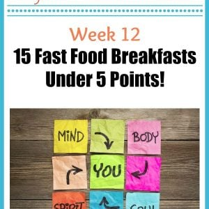 15 Fast Food Breakfasts Under 5 Points