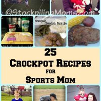 25 Crockpot Recipes for Sports Mom