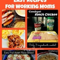 25 Easy Recipes for Working Moms