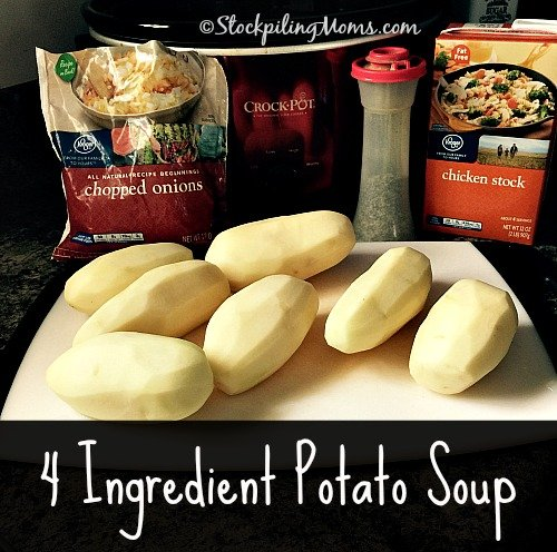 4 Ingredient Potato Soup