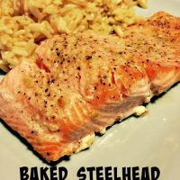 Baked Steelhead Trout Filets