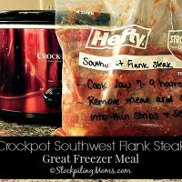 Crockpot Southwest Flank Steak