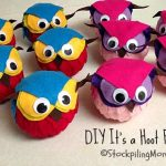 DIY It's a Hoot Felt Owls2
