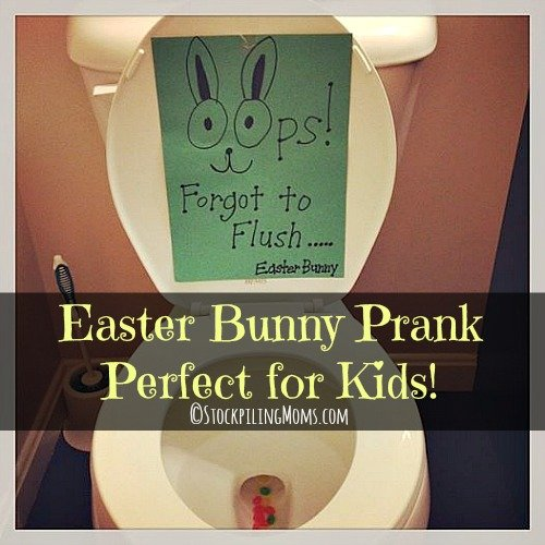 Easter Bunny Prank Perfect For Kids