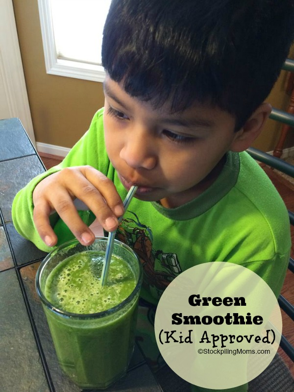 Green Smoothie - Kid Approved