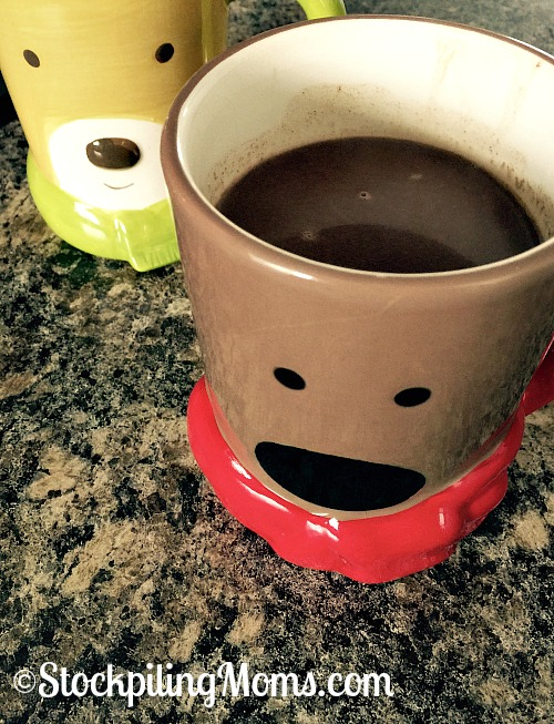 Homemade Hot Cocoa that you need only 2 Ingredients to make! Healthy and good for everyone.