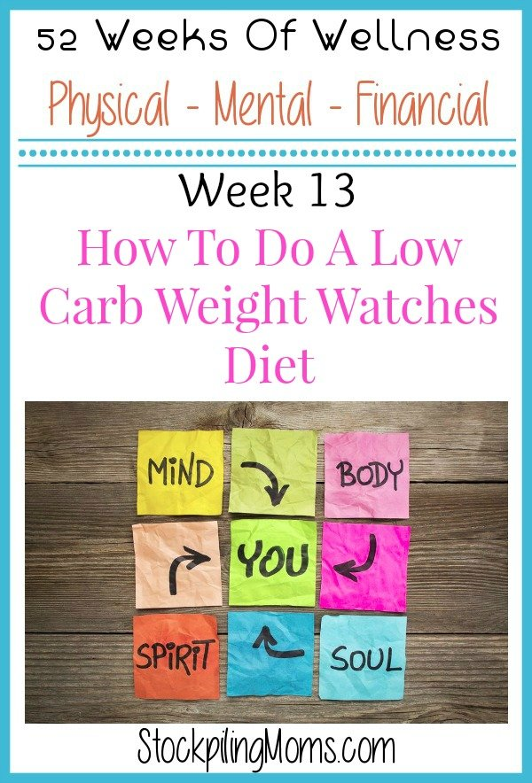 How To Do A Low Carb Weight Watchers Diet