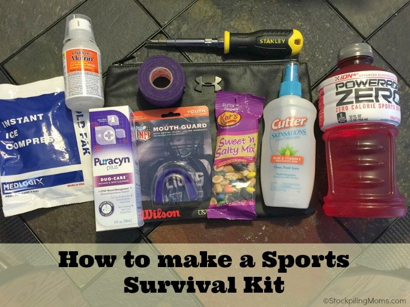 How to make a Sports Survival Kit