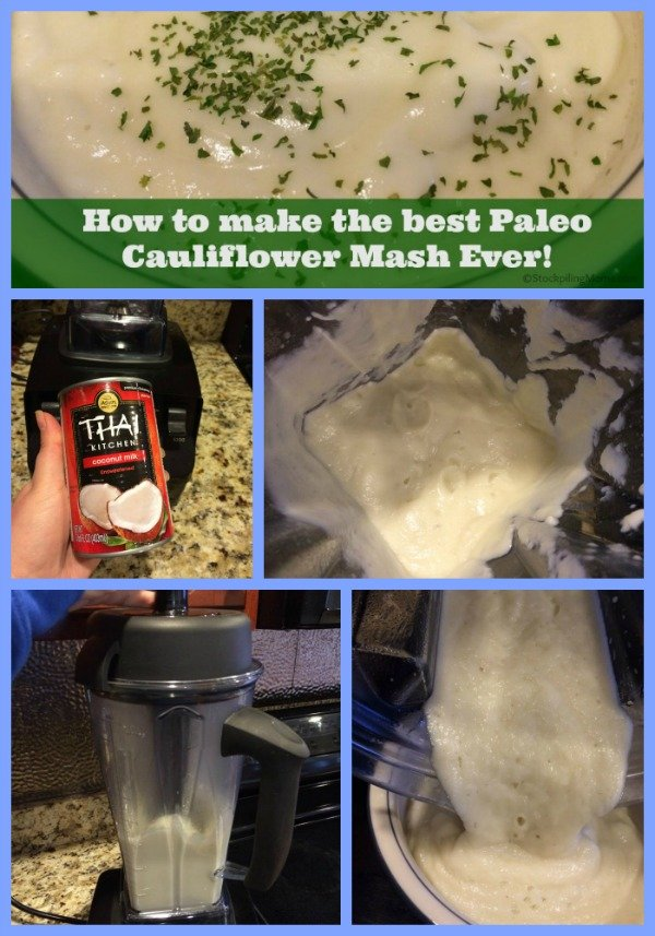 How to make the best Paleo Cauliflower Mash Ever!