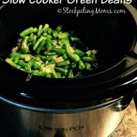 Slow Cooker Green Beans3