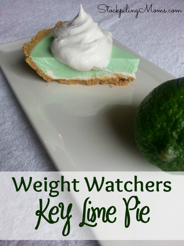 Weight Watchers Key Lime Pie is a delicious treat that is light and refreshing. You will love how easy this dish comes together.