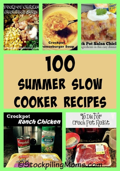100 Summer Slow Cooker Recipes